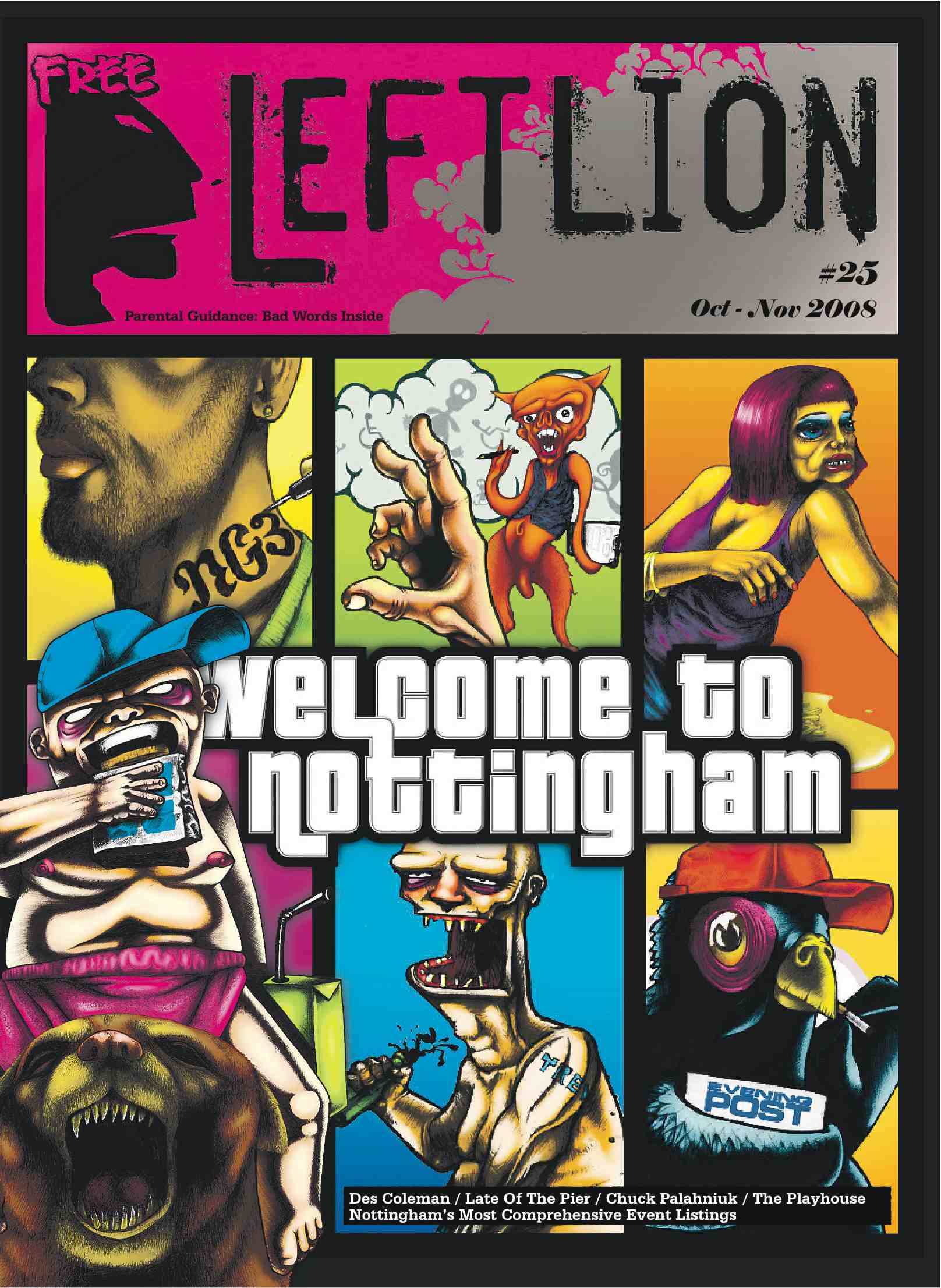 Left Lion Magazine
