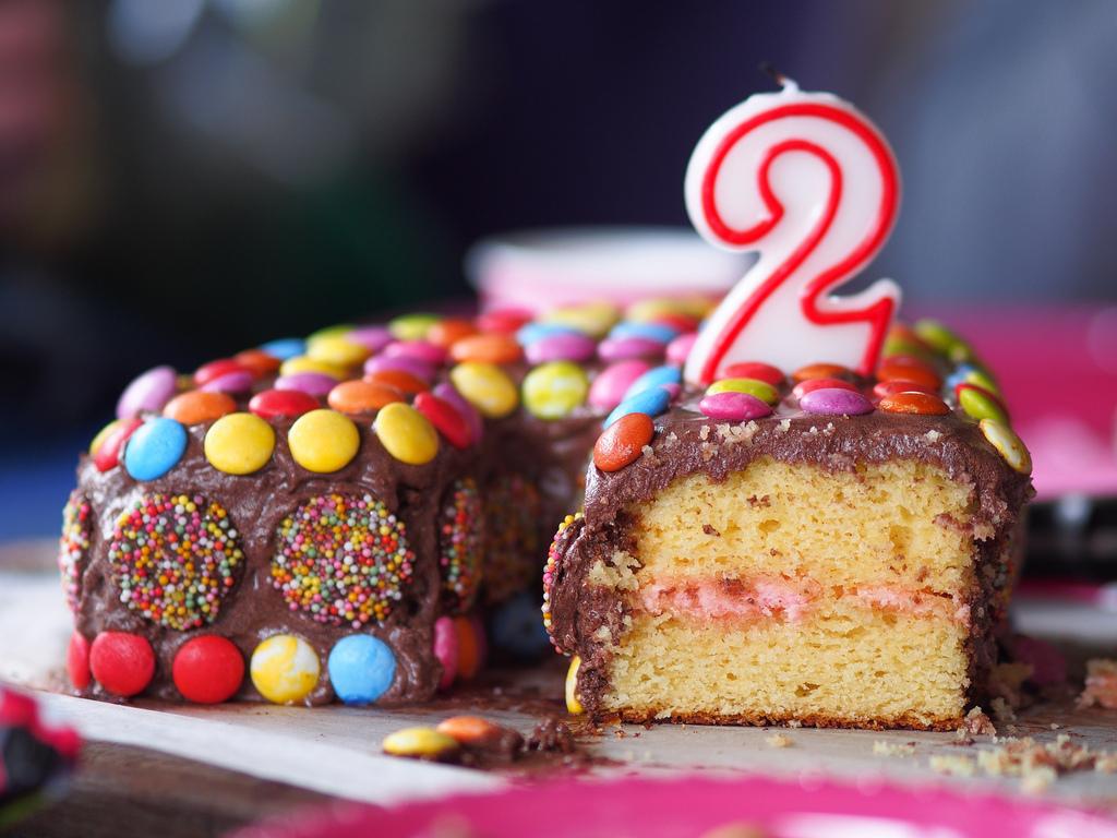 Alluvium 2nd Birthday Cake